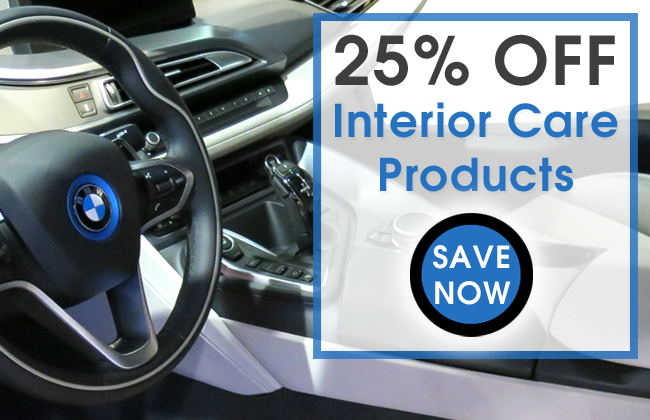 25% Off Interior Care Products - Save Now