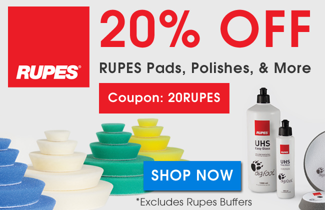 20% Off RUpes Pads, Polishes, & More - Coupon 20Rupes - Shop Now