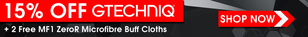15% Off Gtechniq + 2 Free MF1 ZeroR Microfibre Buff Cloths - Coupon: GtechMF1 - Shop Now