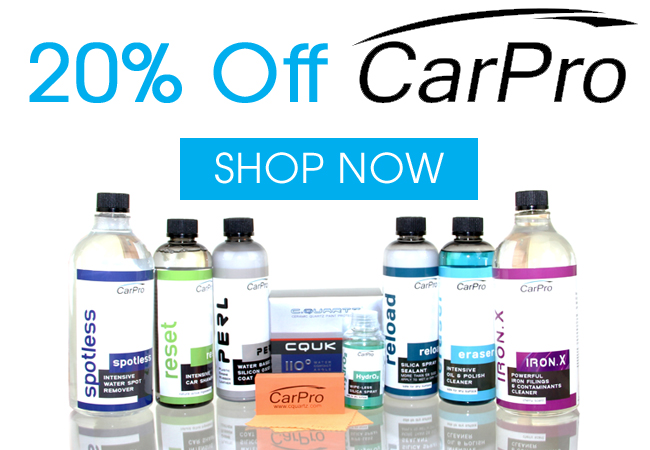 20% Off CarPro Sale!