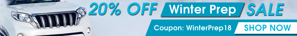 20% Off Winter Prep Sale - Coatings - Sealants - Waxes - Coupon WinterPrep18 - Shop Now
