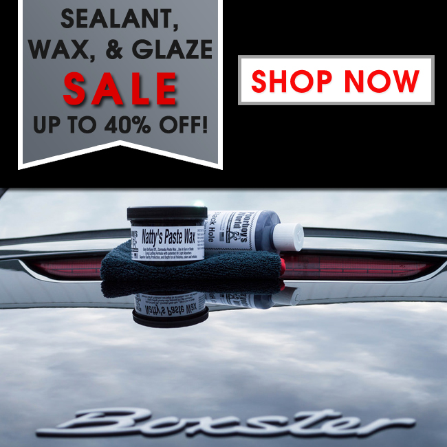 Sealant, Wax, & Glaze Sale