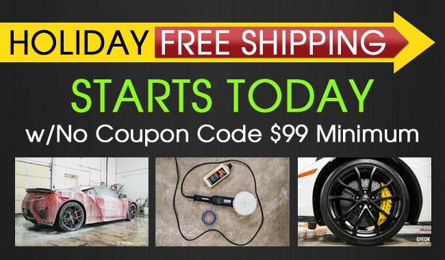 Holiday Free Shipping Starts Today w/No Coupon Code $99 Minimum