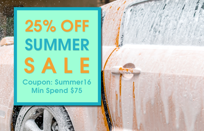 25% Off Summer Sale - Coupon Summer16 - Min Spend $75 - click for details