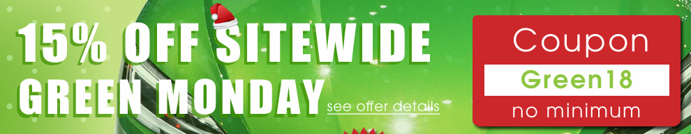 15% off Sitewide Green Monday - Coupon Green18 No Minimum + Free Bonus 2019 Calendar - see offer details