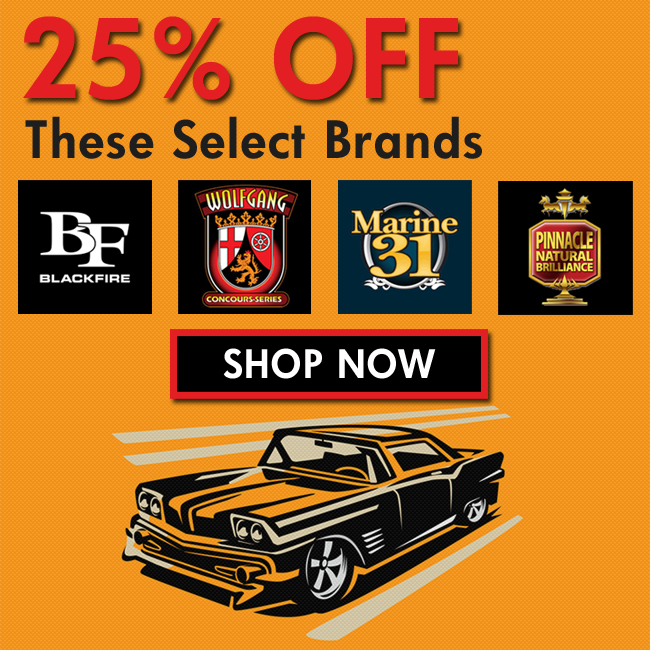 25% Off Blackfire, Pinnacle, Marine 31, & Wolfgang - Shop Now