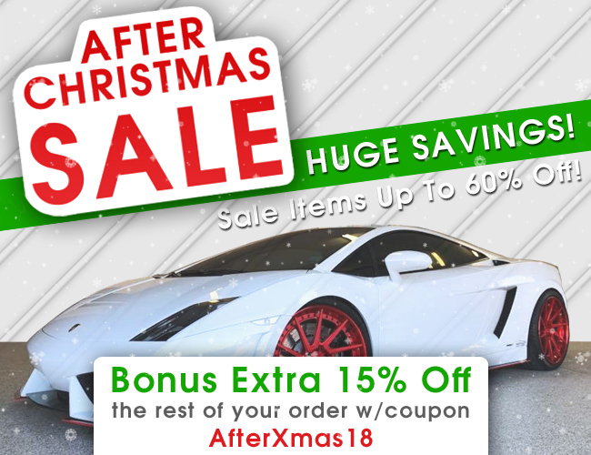 After Christmas Sale - Huge Savings - Sale Items Up To 60% Of - Bonus Extra 15% Off The Rest Of Your Order w/Coupon AfterXmas18