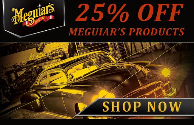 25% Off Meguiar's Sale - Shop Now