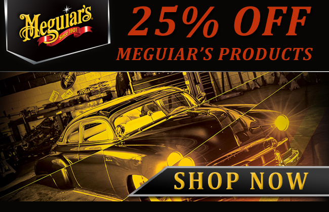 25% Off Meguiar's Sale