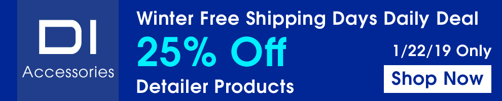 Winter Free Shipping Days Daily Deal - 25% Off DI Accessories - 1/22/19 Only - Shop Now