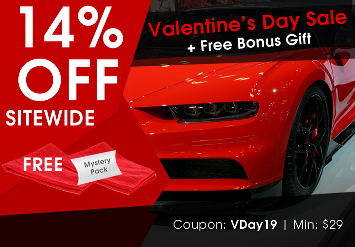 14% Off Sitewide Valentine's Day Sale + Free Bonus Gift - Coupon VDay19 - Min $29