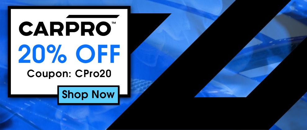 CarPro 20% Off - Coupon CPro20 - Shop Now