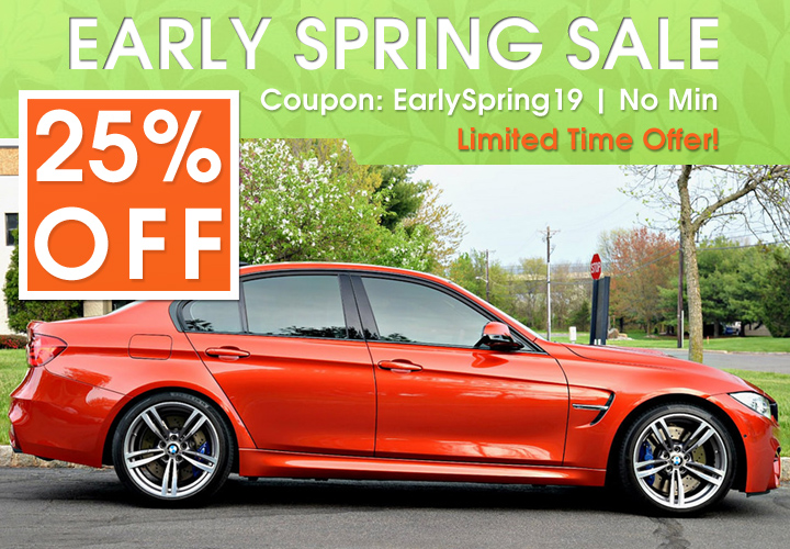 25% Off Early Spring Sale - Coupon EarlySpring19 - No Min - Limited Time Offer