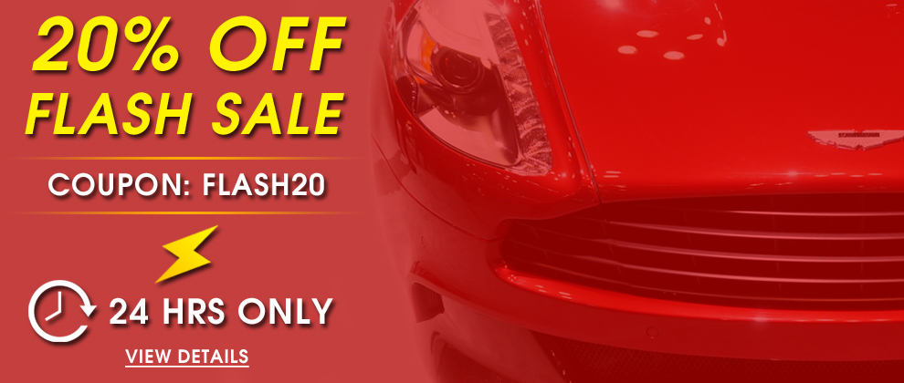 20% Off Flash Sale - Coupon: Flash20 - 24 Hrs Only - view details
