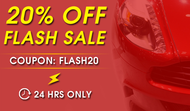 20% Off Flash Sale - Coupon: Flash20 - 24 Hrs Only