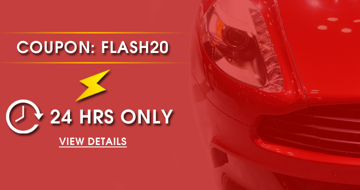 Coupon: Flash20 - 24 Hrs Only - view details