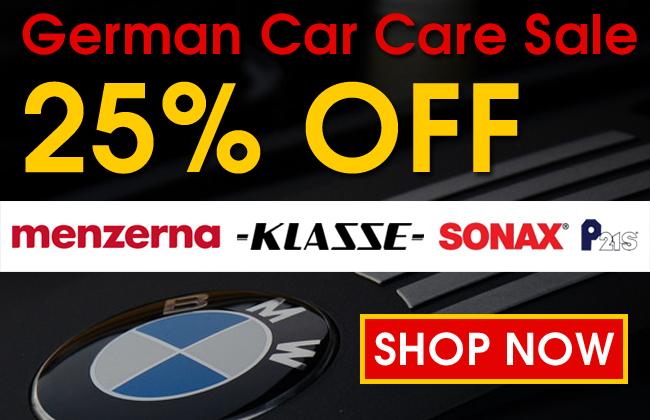 25% Off German Car Care Sale