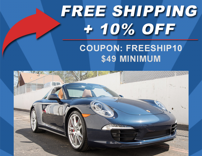 Free Shipping + 10% Off - Coupon: FreeShip10 - $49 Minimum