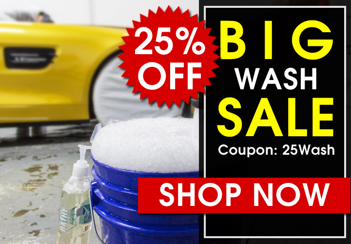 25% Off Big Wash Sale - Coupon 25Wash - Shop Now