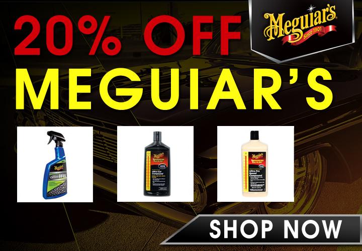 20% Off Meguiar's - Shop Now