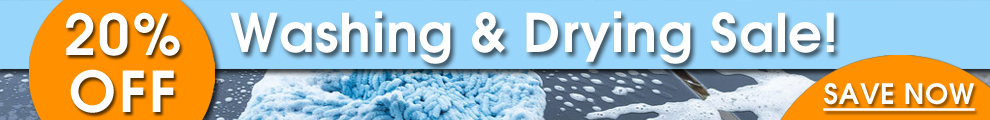 20% Off Washing & Drying Sale! Save Now