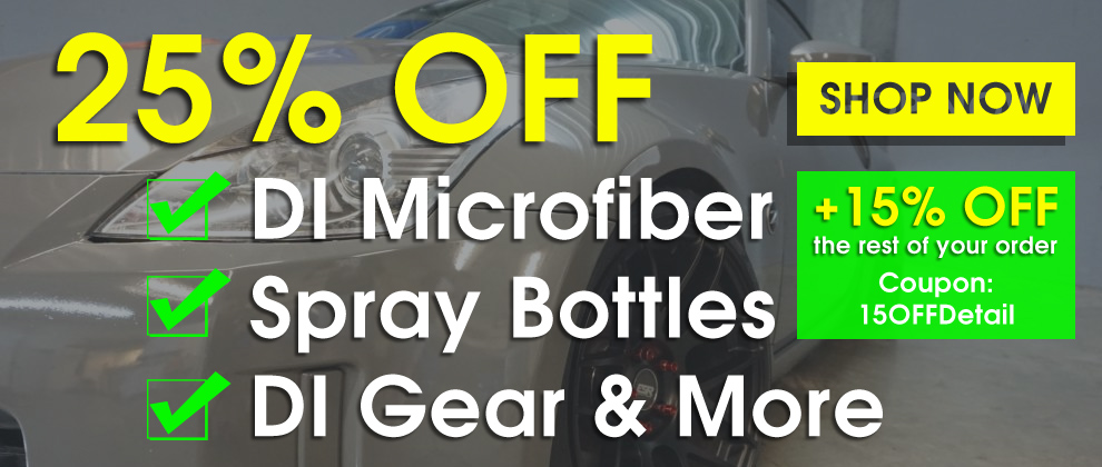 25% Off DI Microfiber, Spray Bottles, DI Gear and More - Shop Now