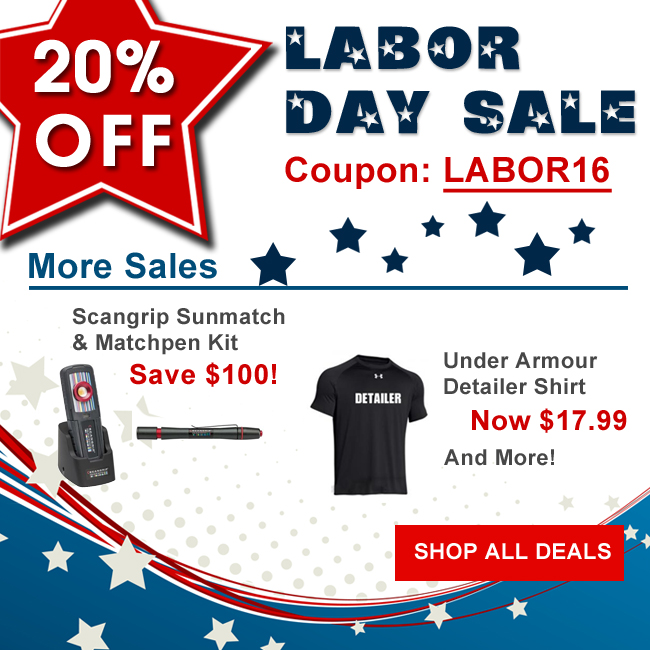 20% Off Labor Day Sale! Coupon: Labor16 - Shop All Deals