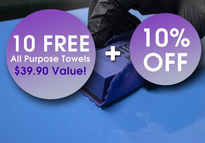 10 Free All Purpose Towels $39.90 Value + 10% Off - Coupon 1010Sale - Min $99