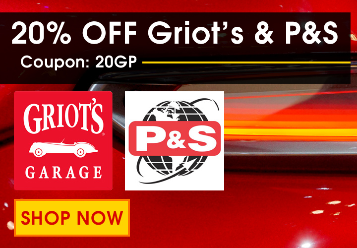 20% Off Griot's & P&S - Coupon 20GP - Shop Now