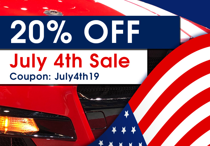 20% Off July 4th Sale - Coupon July4th19