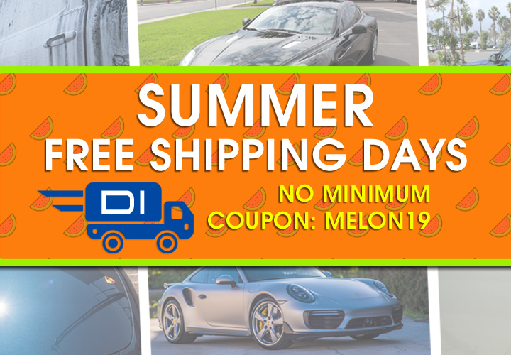 Summer Free Shipping Days - No Minimum - Coupon Melon19
