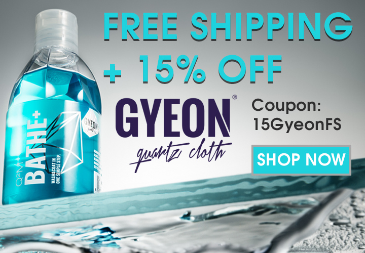Free Shipping + 15% Off Gyeon - Coupon 15GyeonFS - Shop Now