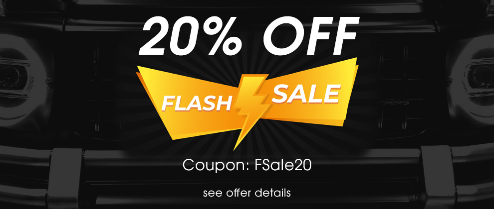 20% Off Flash Sale - Coupon FSale20 - see offer details