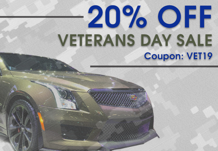 20% Off Veterans Day Sale - Coupon VET19
