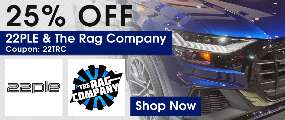 25% Off 22PLE and The Rag Company - Coupon 22TRC - Shop Now