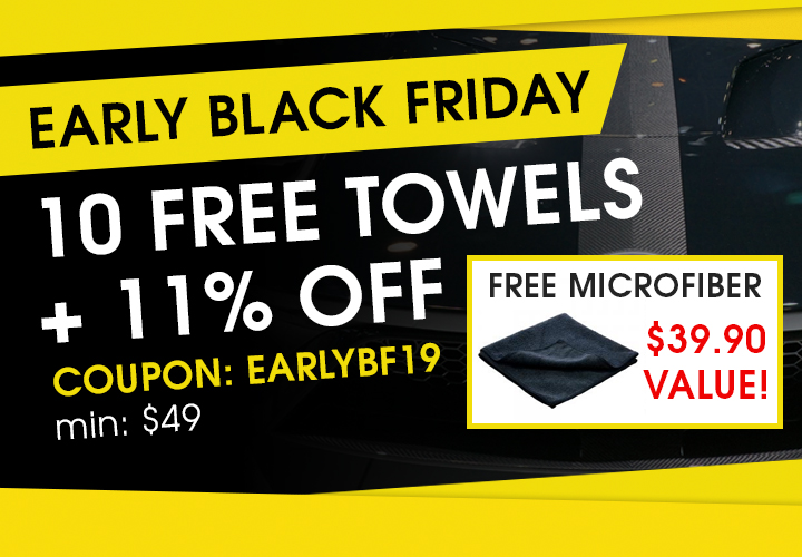 Early Black Friday - 10 Free Towels + 11% Off - Coupon EarlyBF19 - min $49