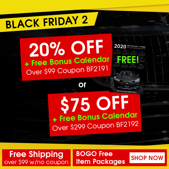 Black Friday 2 - 20% Off + Free Bonus Calendar Over $299 Coupon BF2191 - $75 Off + Free Bonus Calendar Over $299 Coupon BF2192 - Free Shipping over $99 w/ no coupon - BOGO Free Item Packages - Shop Now