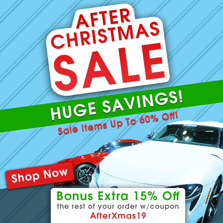 After Christmas Sale - Huge Savings - Sale Items Up To 60% Off - Bonus Extra 15% Off the rest of your order w/coupon AfterXmas19 - Shop Now