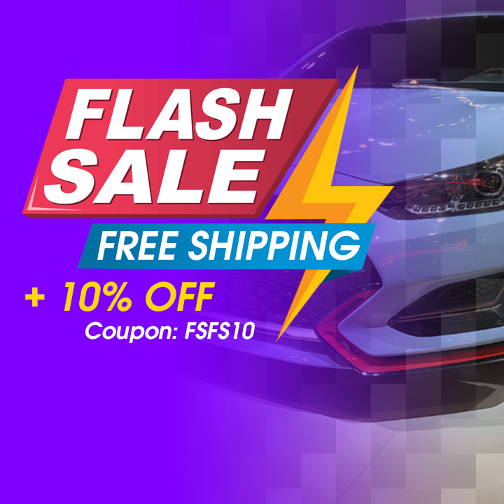 Flash Sale - Free Shipping + 10% Off - Coupon FSFS10