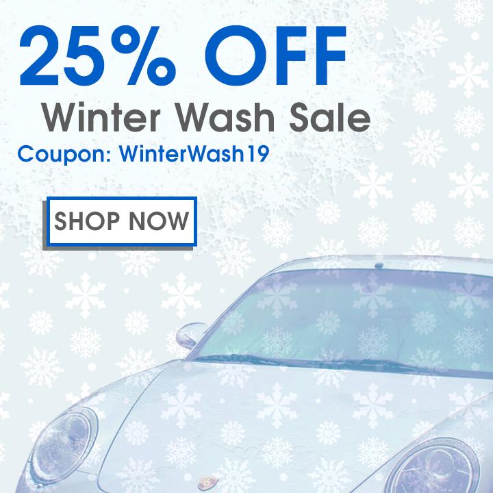 25% Off Winter Wash Sale - Coupon WinterWash19 - Shop Now