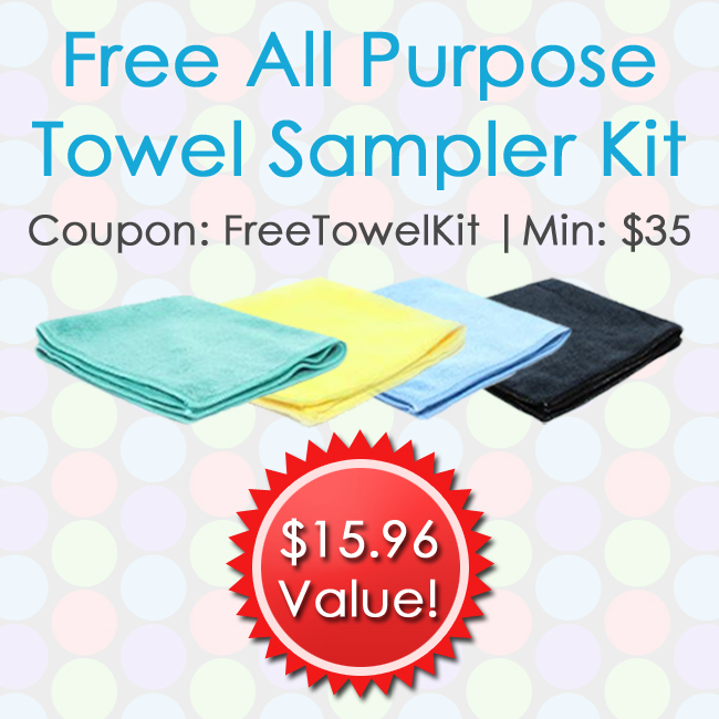 Free All Purpose Towel Sampler Kit
