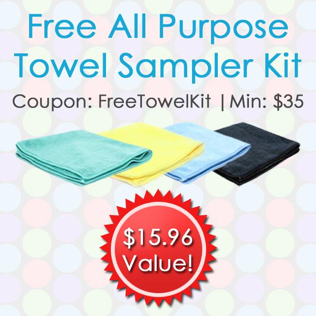 Free All Purpose Towel Sampler Kit