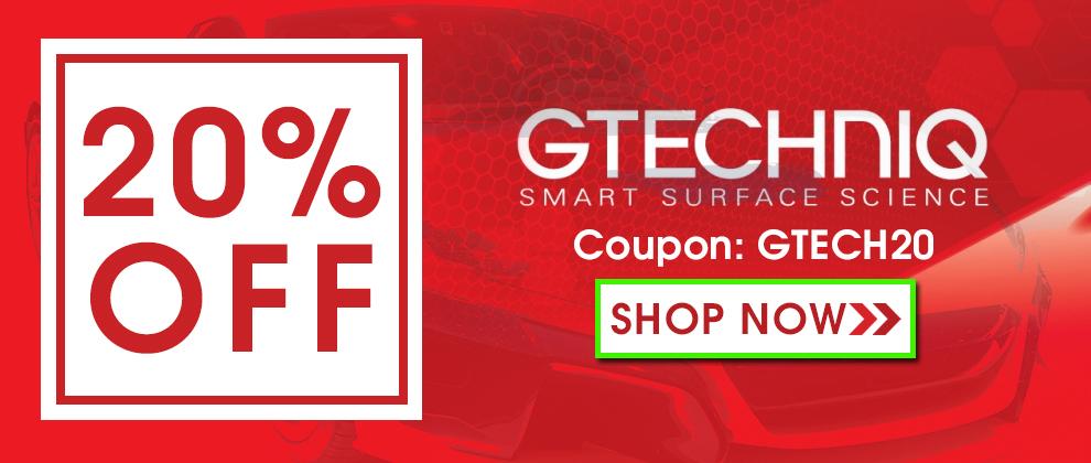 20% Off Gtechniq - Coupon 20GTECH - Shop Now