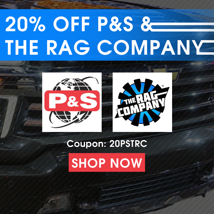 20 Off PS and The Rag Company