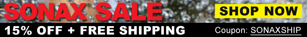 SONAX SALE: 15% Off + Free Shipping - Coupon: SONAXSHIP - Shop Now