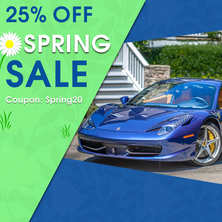 25% Off Spring Sale - Coupon Spring20