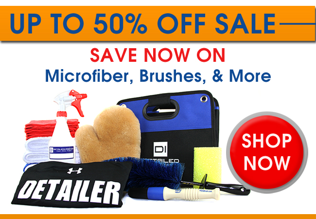 Up To 50% Off Sale - Save Now On Microfiber, Brushes, & More - Shop Now