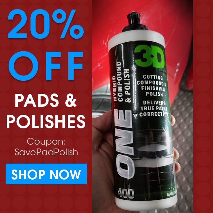 20 Off Pads and Polishes