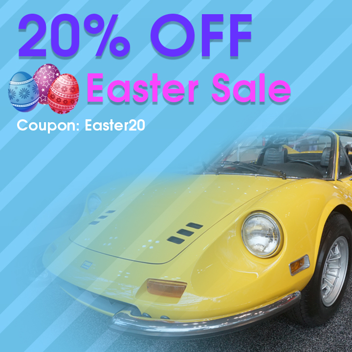 20% Off Easter Sale - Coupon Easter20 - Shop Now