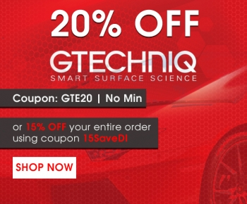 20 Off Gtechniq or 15 Off Entire Order